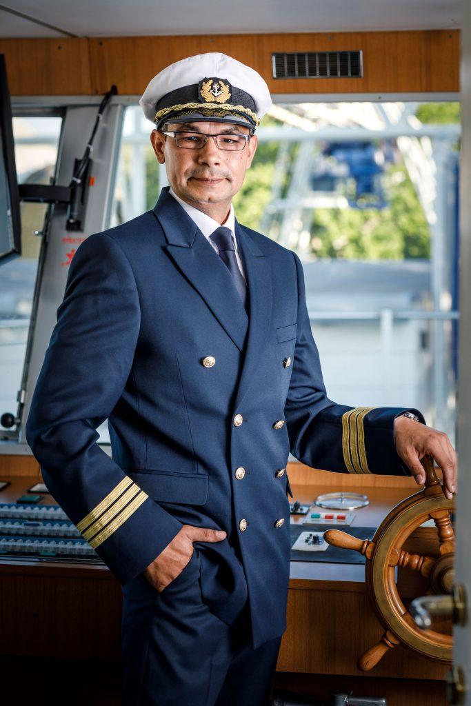 Wörtherseeschifffahrt: Kapitän Djordje Winkelbauer