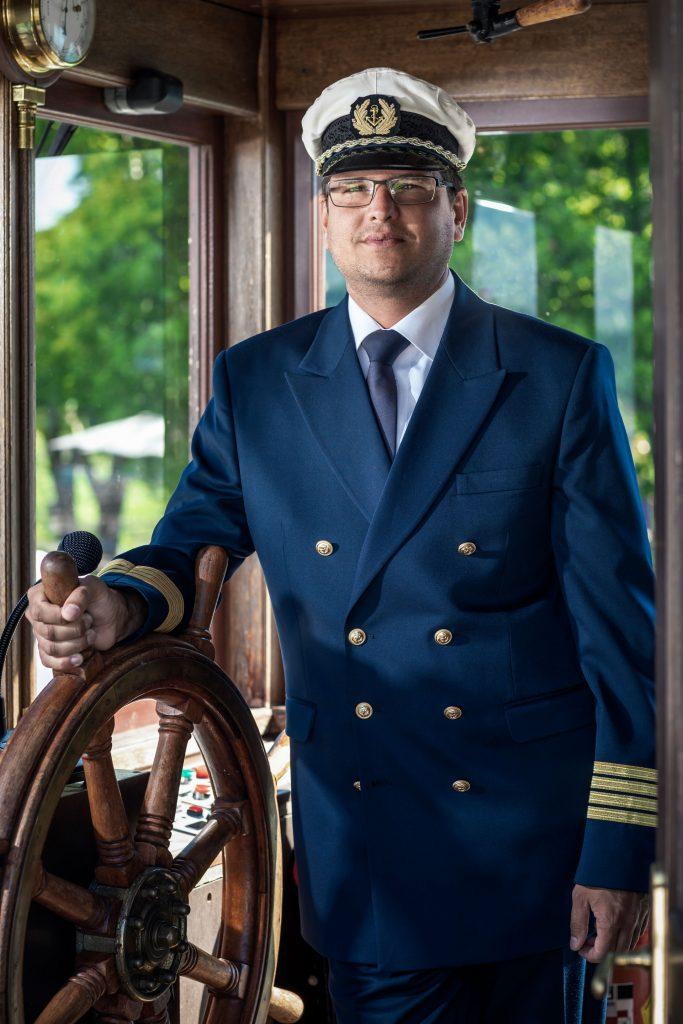Wörtherseeschifffahrt: Kapitän Kevin Pauli